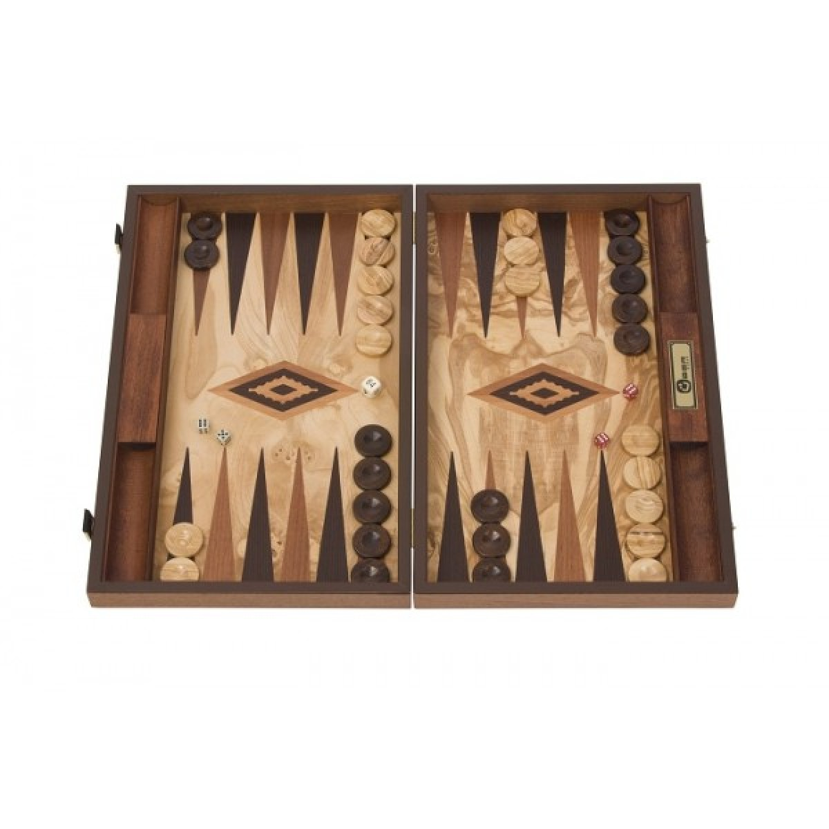 Backgammon Spielfeld