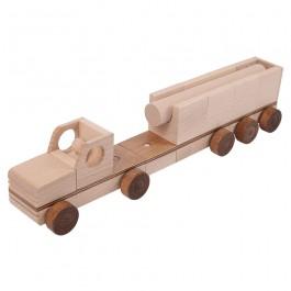 Beck Flexi Fahrzeug: Lastwagen - Holzspielzeug Profi