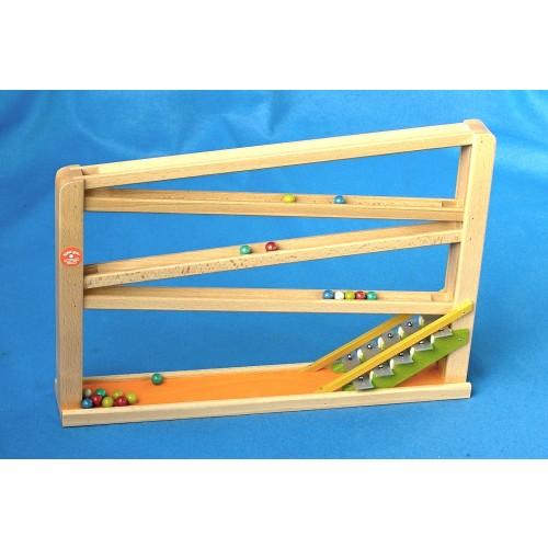 beck kugelbahn mit glockenspiel, die beliebteste beck murmelbahn,