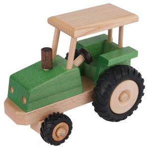 Beck Traktor lenkbar (neue Version) - Holzspielzeug Profi