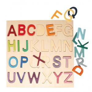 GRIMM´S Holzbuchstabenspiel im Rahmen - Holzspielzeug Profi