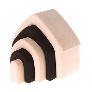 GRIMM´S Haus monochrom: versetzt - Holzspielzeug Profi