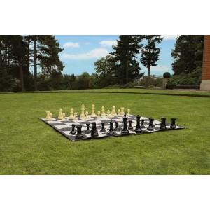 Übergames Schach Set 20 cm mit Spielfeld - Holzspielzeug Profi