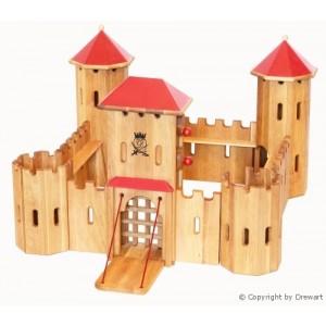 Drewart großes Kastell - Holzspielzeug Profi