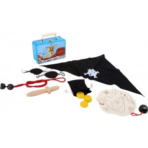 Kinderkoffer Piraten-Set