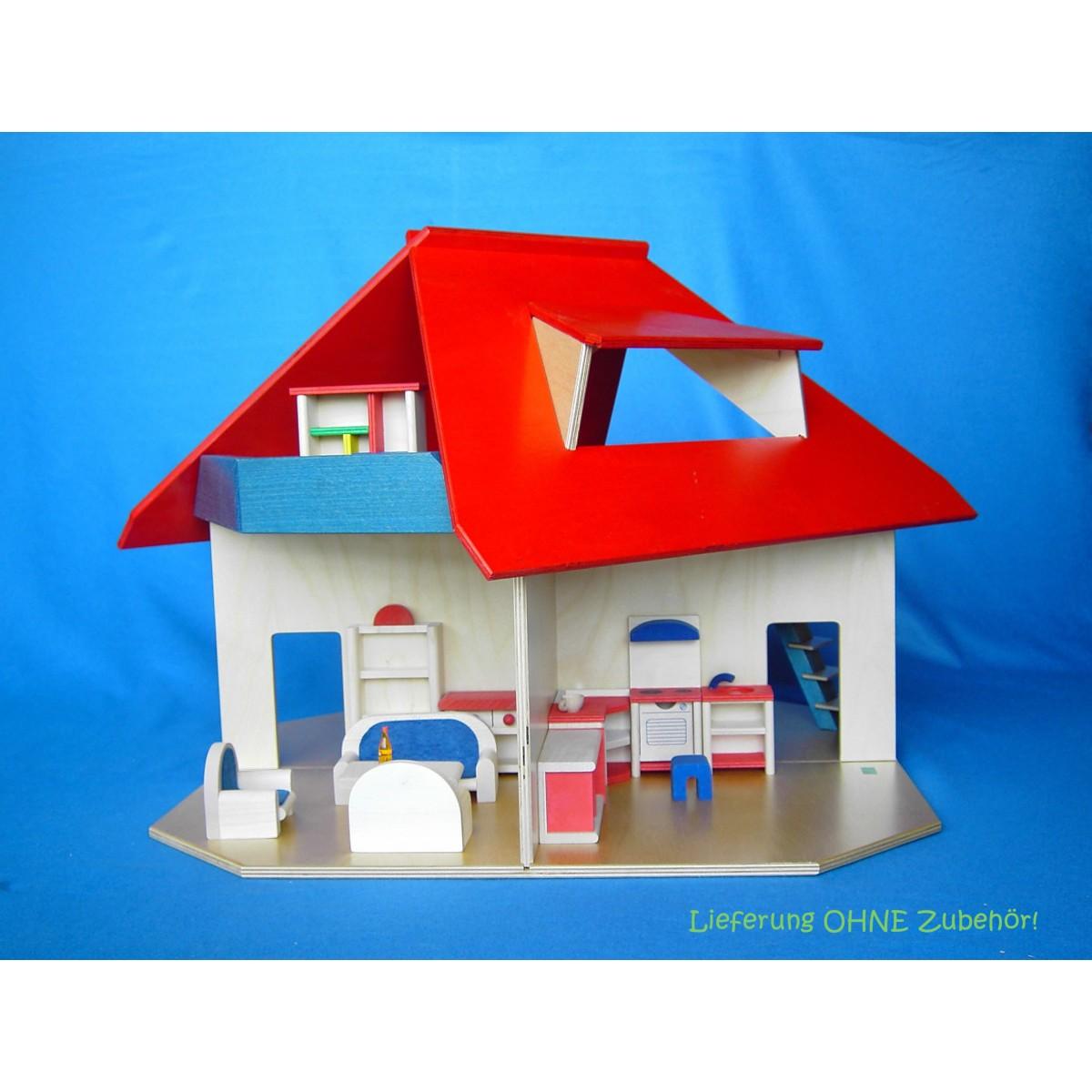 beck puppenhaus mit gaube hier beim gepr ften holzspielzeug profi. Black Bedroom Furniture Sets. Home Design Ideas