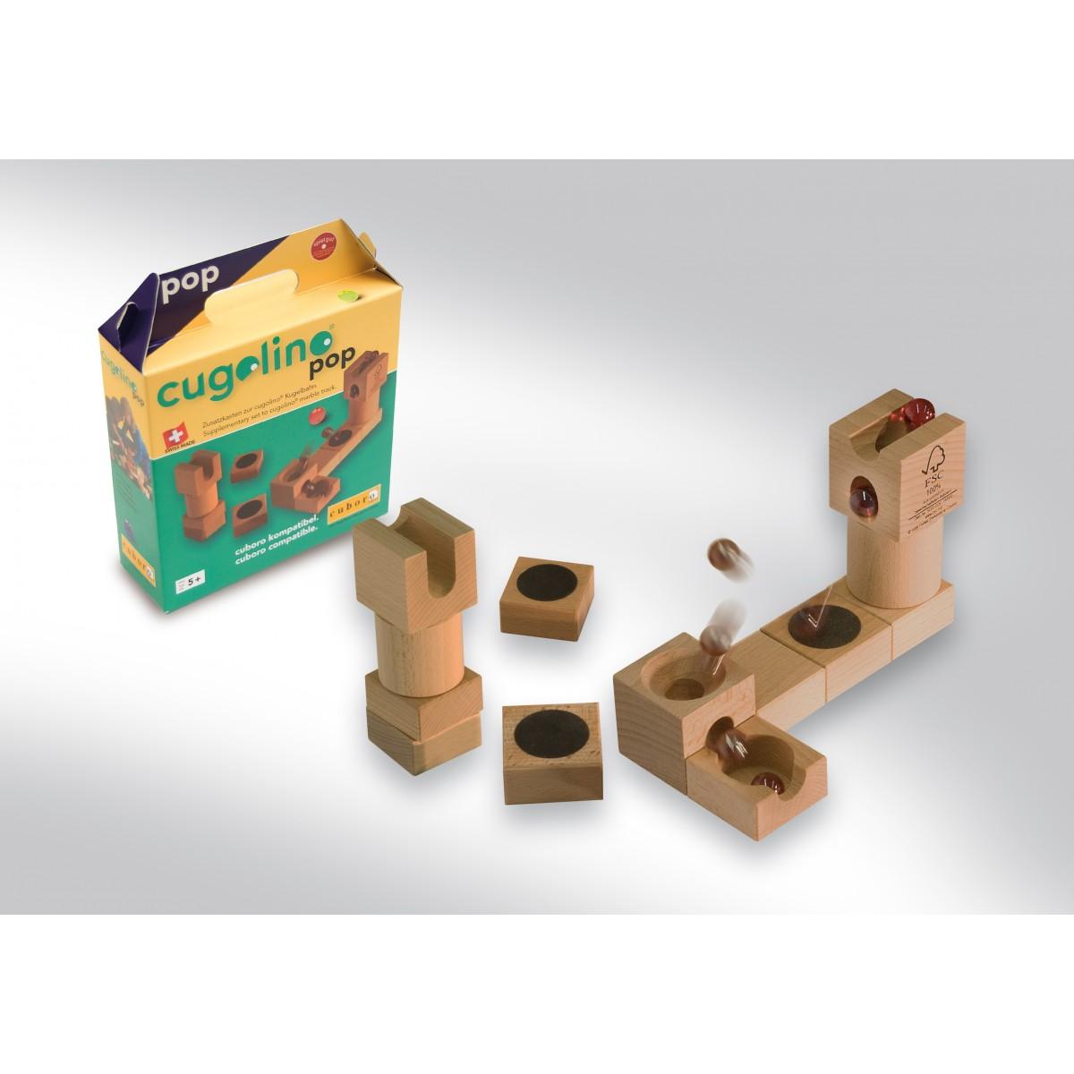 Cuboro cugolino pop zusatzkasten beim holzspielzeug profi for Holzspielzeug profi