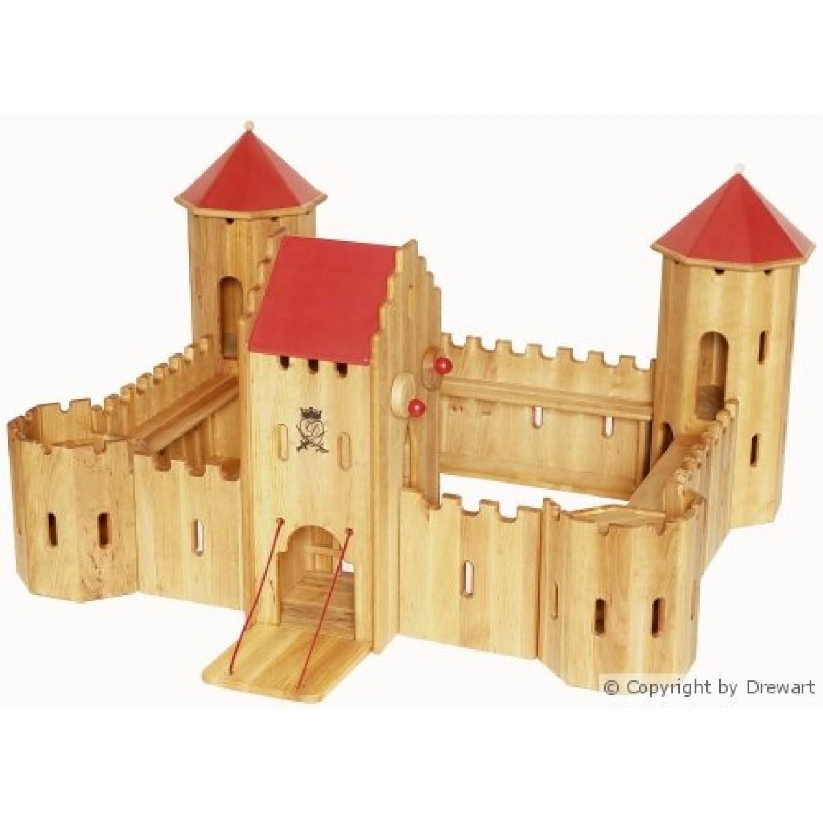 Drewart kastell maxi hier beim holzspielzeug profi for Holzspielzeug profi