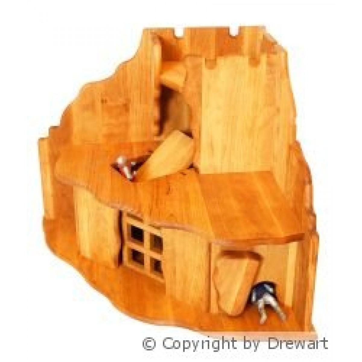 drewart pirateninsel aus erle hier beim holzspielzeug profi. Black Bedroom Furniture Sets. Home Design Ideas