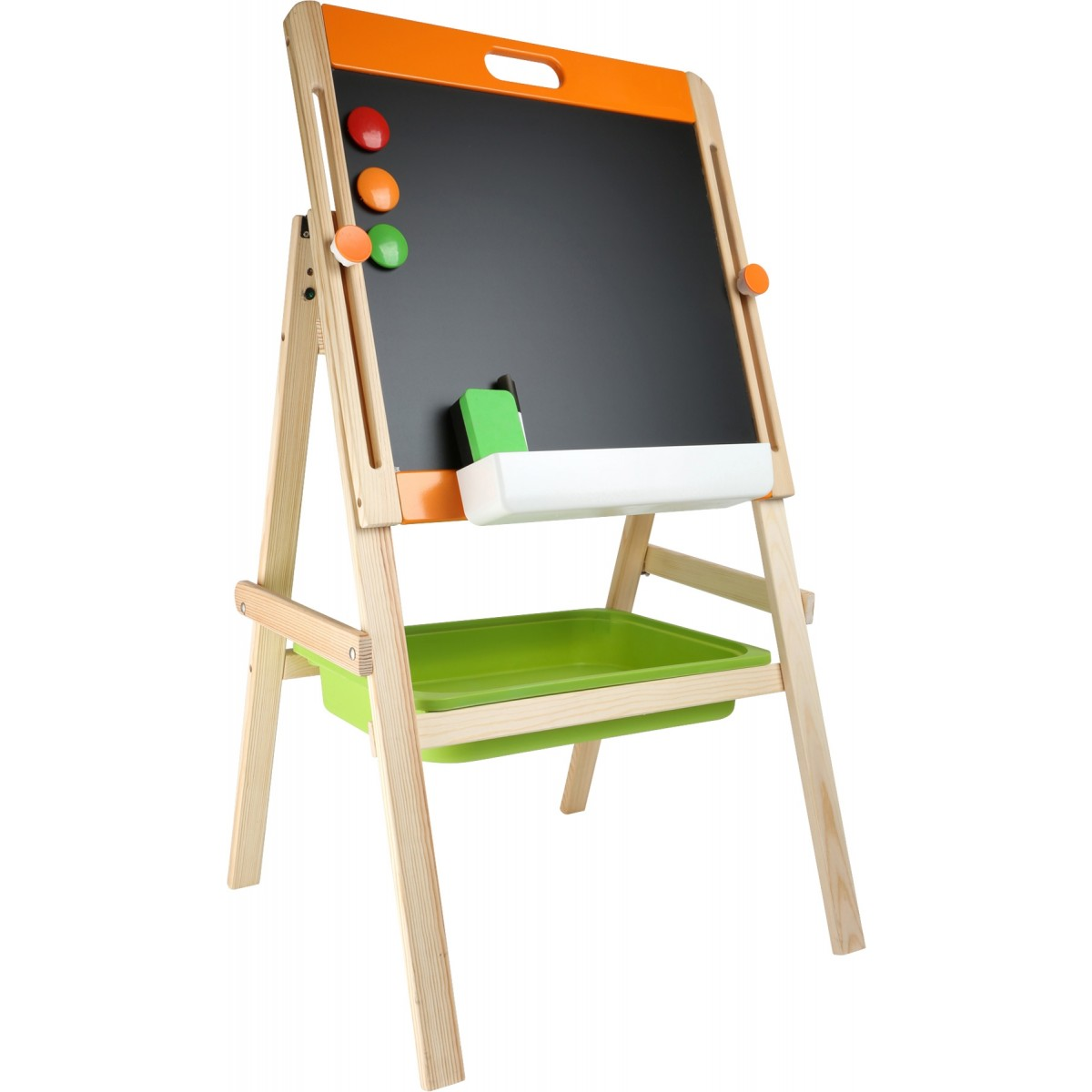 kindertafel kreide magnet beim holzspielzeug profi. Black Bedroom Furniture Sets. Home Design Ideas