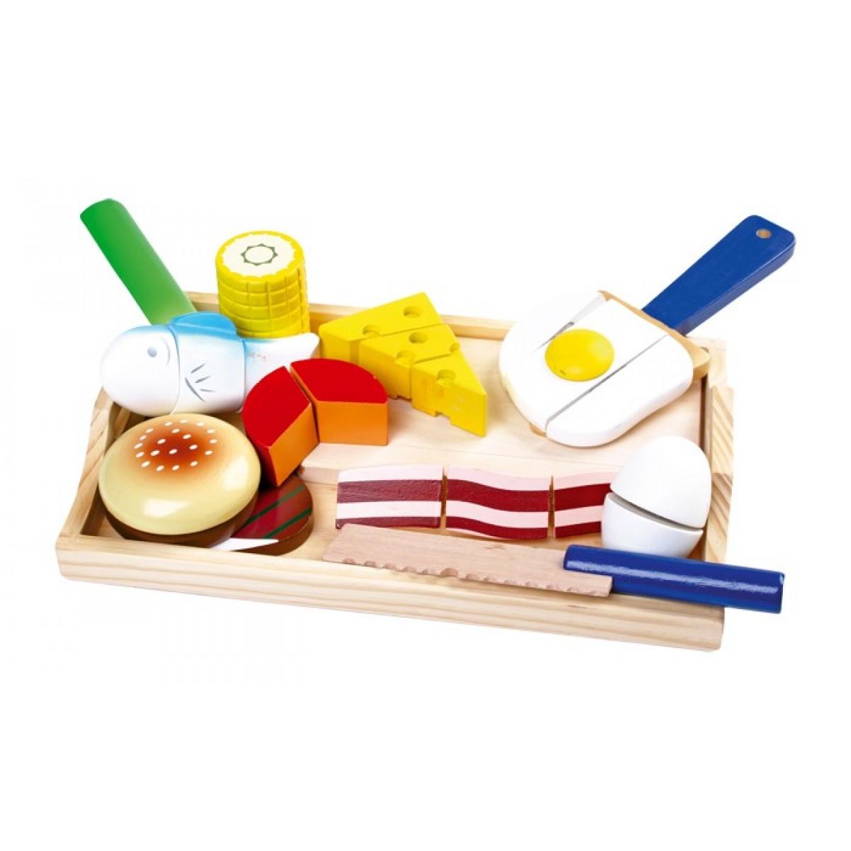 Schneide gourmet ein schneidespielzeug vom holzspielzeug for Holzspielzeug profi
