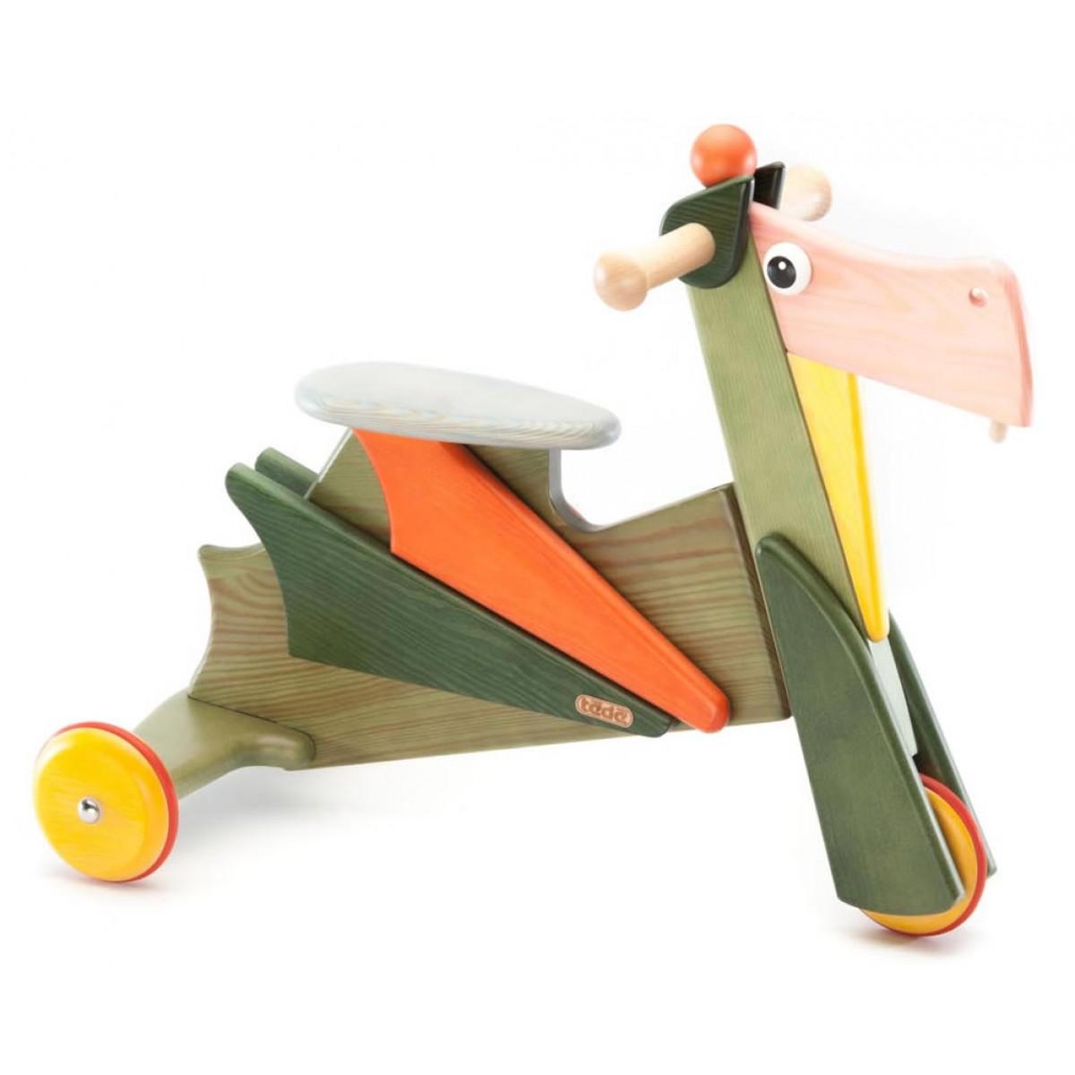 Tedefamily rutschdrache michael beim holzspielzeug profi for Holzspielzeug profi