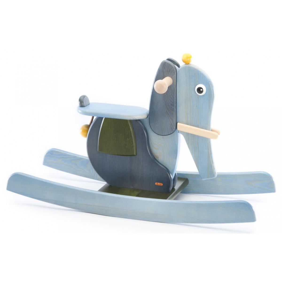 Tedefamily schaukelelefant pauline beim holzspielzeug profi for Holzspielzeug profi