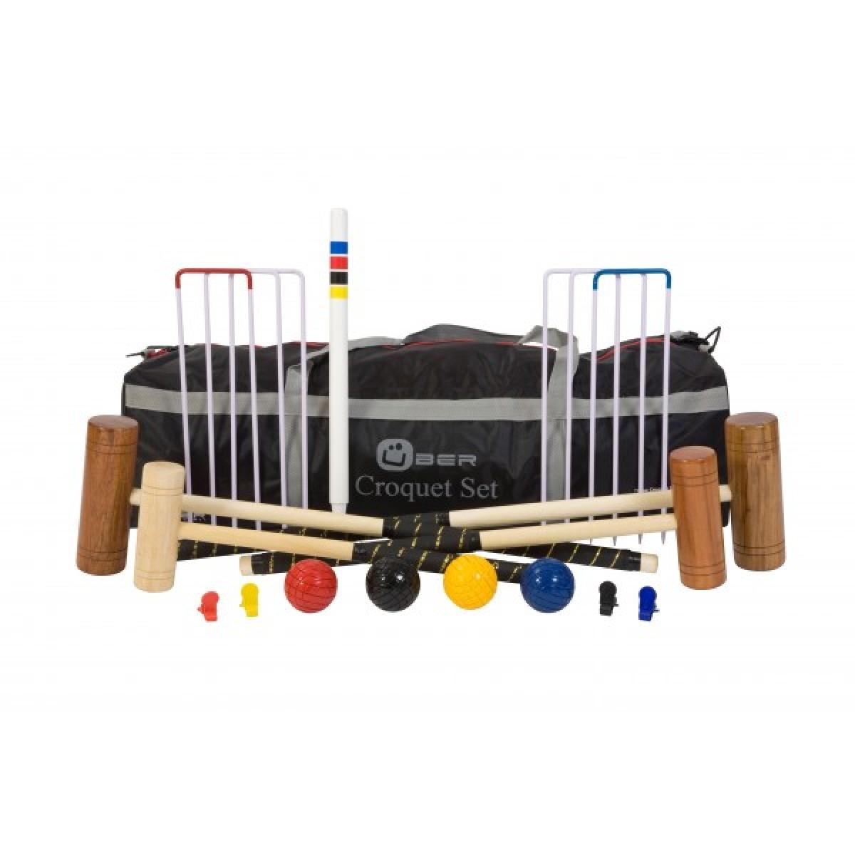 familien krocket von bergames holzspielzeug profi. Black Bedroom Furniture Sets. Home Design Ideas