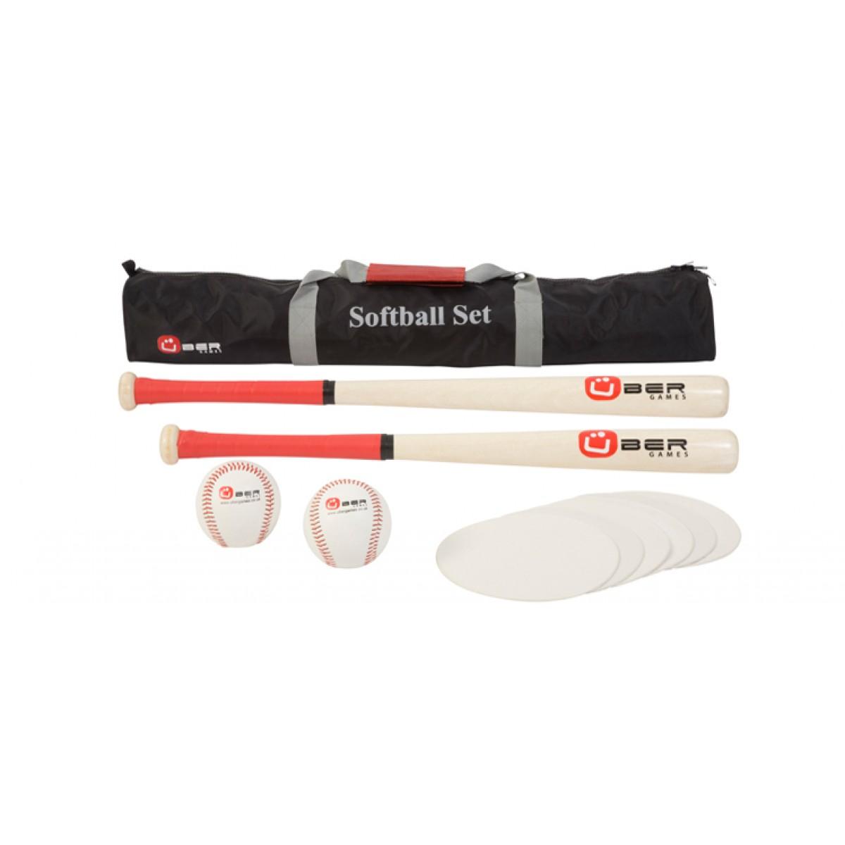 bergames softball spiel mit zwei schl gern neu bei holzspielzeug profi. Black Bedroom Furniture Sets. Home Design Ideas