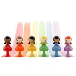 CLICQUES Rainbow Girls - Holzspielzeug Profi