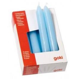 Kerzen blau (10er Set) von goki