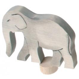 GRIMM´S Tier-Stecker Elefant, handbemalt