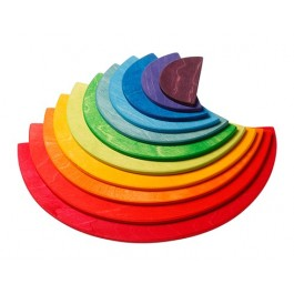 GRIMM´S Große Regenbogen Halbkreise  - Holzspielzeug Profi