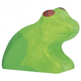Holztiger Frosch - Holzspielzeug Profi