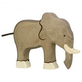 Holztiger Elefant - Holzspielzeug Profi