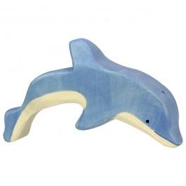 Holztiger springender Delfin - Holzspielzeug Profi