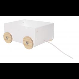 JaBaDaBaDo Kleine Spielzeugkiste mit Rädern - Holzspielzeug Profi