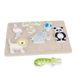JaBaDaBaDo Setzpuzzle Safari - Holzspielzeug Profi