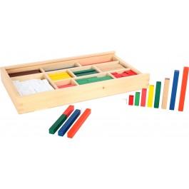 Rechenstäbchen: Inhalt - Holzspielzeug Profi