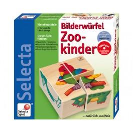 Selecta Bilderwürfel Zookinder