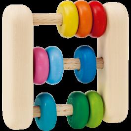 Selecta Rassel-Greifling-Abacus - Holzspielzeug Profi