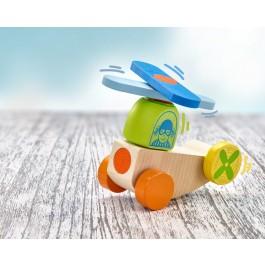 Selecta Klettini® Flieger - Holzspielzeug Profi
