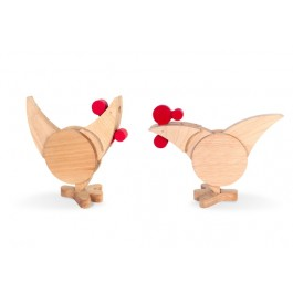 wodibow Chicock: Henne oder Hanh? Beides! - Holzspielzeug Profi