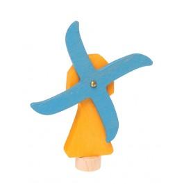 GRIMM´S Stecker Windmühle - Holzspielzeug Profi