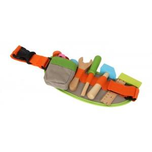Werkzeuggürtel für Kinder - Holzspielzeug Profi