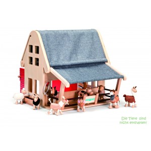 anaMalz Bauernhof (Lieferung ohne Tiere) - Holzspielzeug Profi