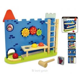 I´m Toy Kugelbahn / Spielstation Burg: Spielstation - Holzspielzeug Profi