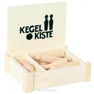 Kegelkiste Mini - Holzspielzeug Profi