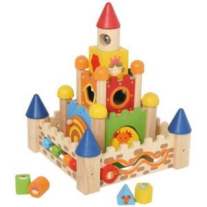 I´m Toy Stapelburg Vorderseite - Holzspielzeug Profi
