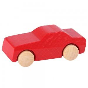 Beck Miniatur PKW Personenwagen in rot - Holzspielzeug Profi
