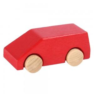 Beck roter Miniatur Van- Holzspielzeug Profi