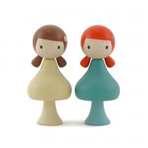 CLICQUES Zoe & Stella - Holzspielzeug Profi