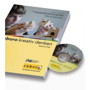 Cuboro kreativ denken Buch mit CD-ROM - Holzspielzeug Profi