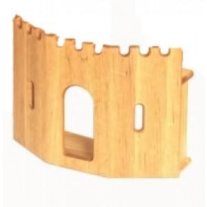 Drewart Eingangsmauer für Festung - Holzspielzeug Profi