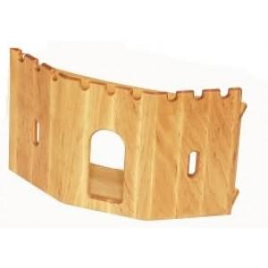 Drewart Eingangsmauer für große Festung - Holzspielzeug Profi