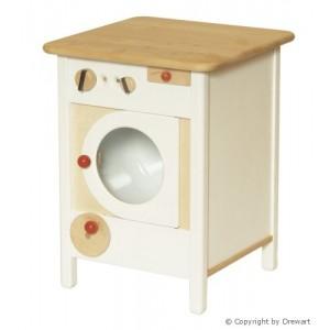 Drewart Waschmaschine weiß - Holzspielzeug Profi