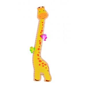 EverEarth Messlatte Giraffe - Holzspielzeug Profi