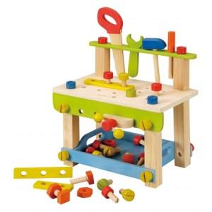 EverEarth Werkbank - Holzspielzeug Profi