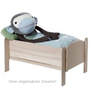 FRANCK & FISCHER Puppenbett: ohne Zubehör (Wäsche und Kuscheltier) - Holzspielzeug Profi