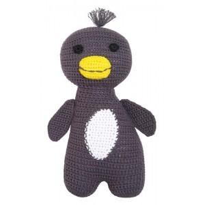 FRANCK & FISCHER Kuscheltier Pinguin Amigo - Holzspielzeug Profi